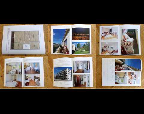 Alf Lund Godbolt (32) og Susann Bugge Kambestad (32) solgte leiligheten de hadde i Bredalsmarken i Bergen selv. Her er prospektet de laget.