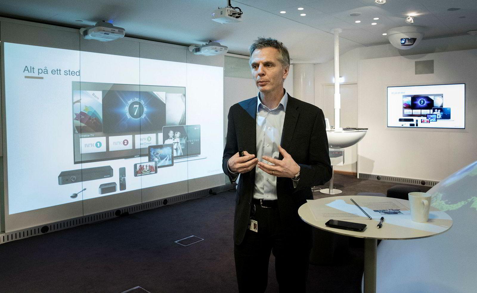 Administrerende direktør Ragnar Kårhus i Canal Digital er fornøyd med å ha fått på plass en avtale.