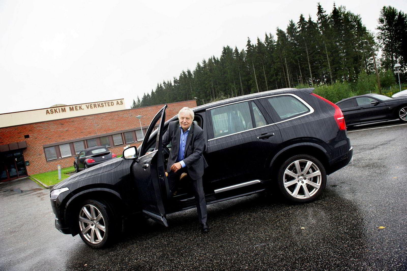 – Jeg har selv opplevd at Kjell Inge Røkke har vist stor interesse for skog, sier styreleder Olav Breivik i Viken Skog.