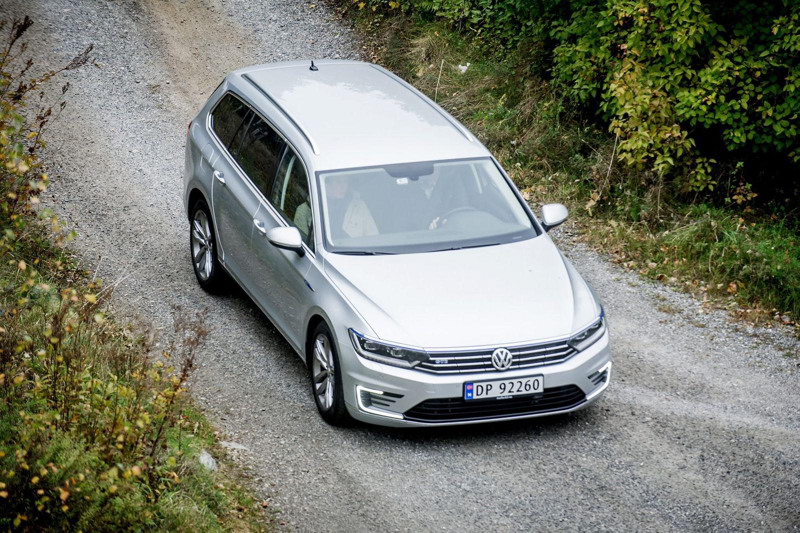 Volkswagen Passat GTE ble nummer to i testen. Foto: Gorm K. Gaare