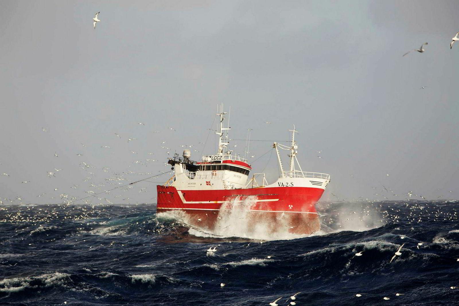 Tråleren Hunter, som Aamodt Fiskeri kjøpte i 2010, ble solgt i 2016 før selskapet tok det store løftet og kjøpte industritråleder Sille Marie.