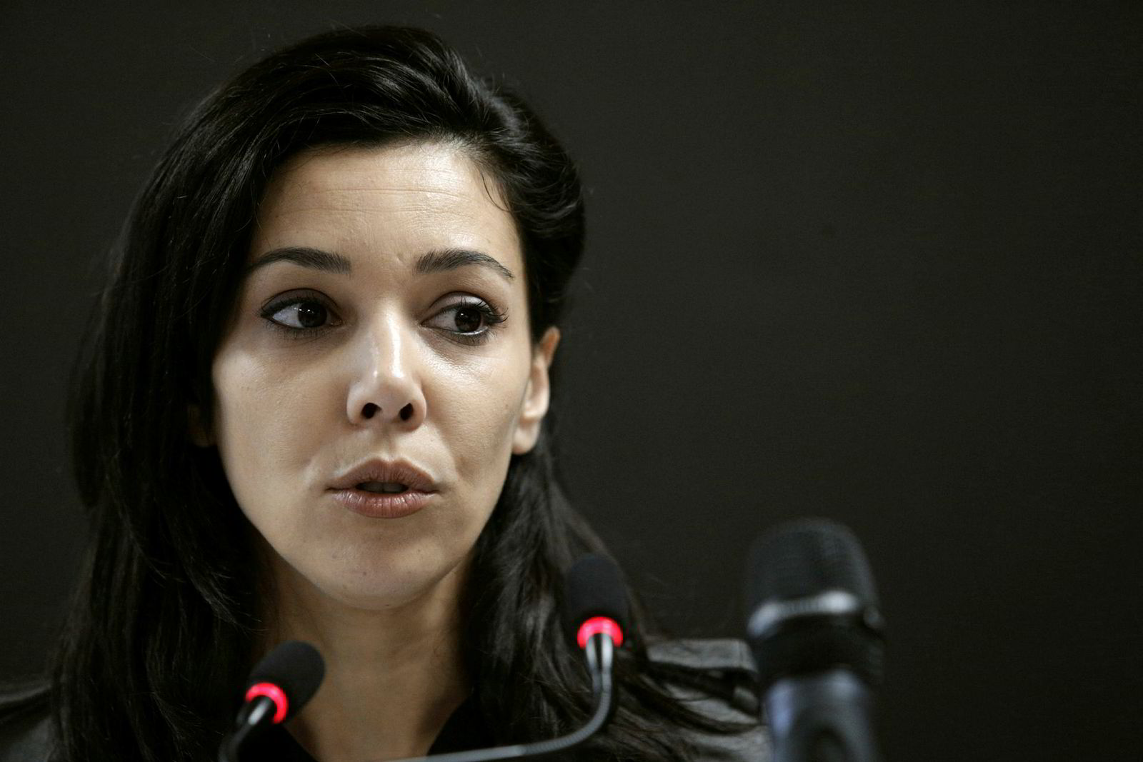 Sophia Chikirou, kommunikasjonssjef for Jean-Luc Mélenchon.