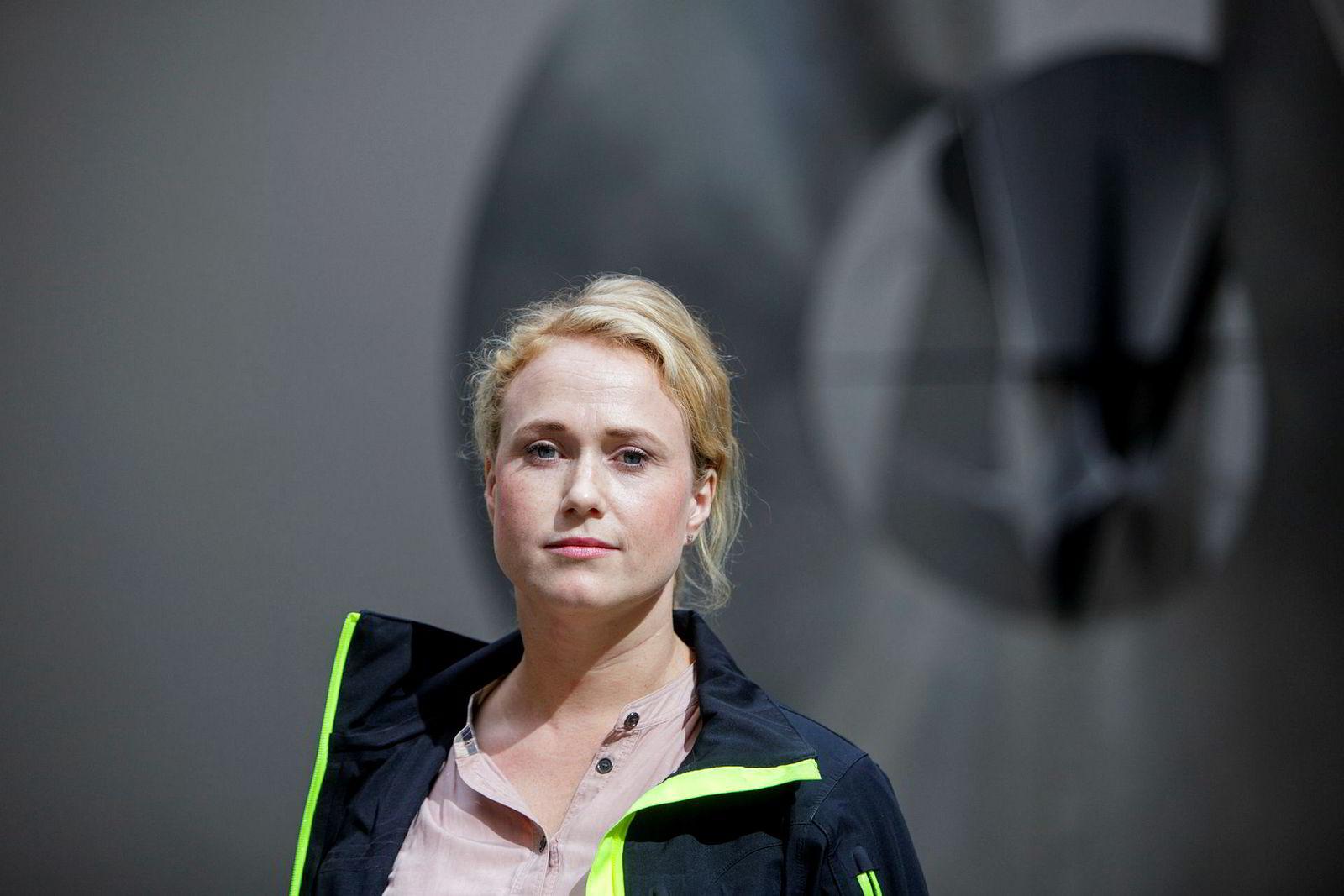 Skulpturkonservator Ingrid Skard Skomedal i Kulturetaten i Oslo kommune.