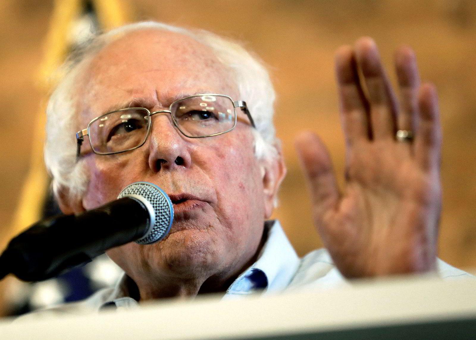 Senator Bernie Sanders er eldst, og stiller i 2020.