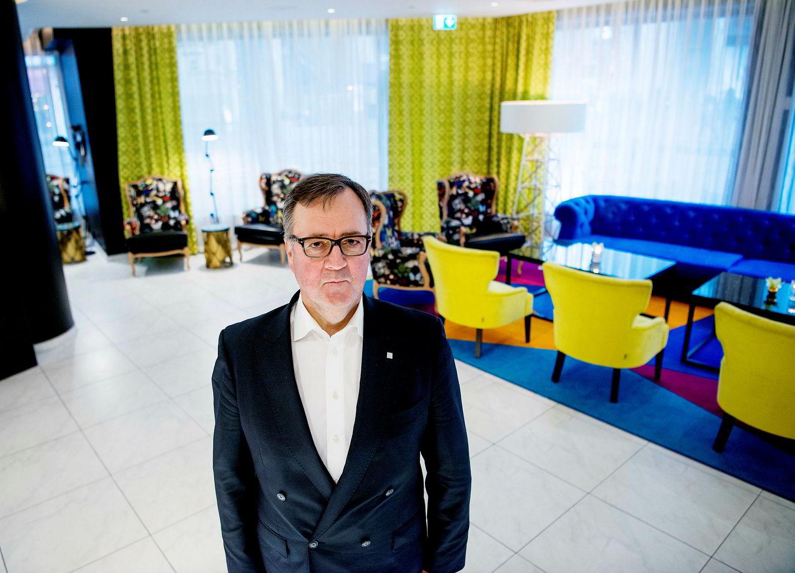 Morten Thorvaldsen, administrerende direktør i hotellkjeden Thon Hotels.