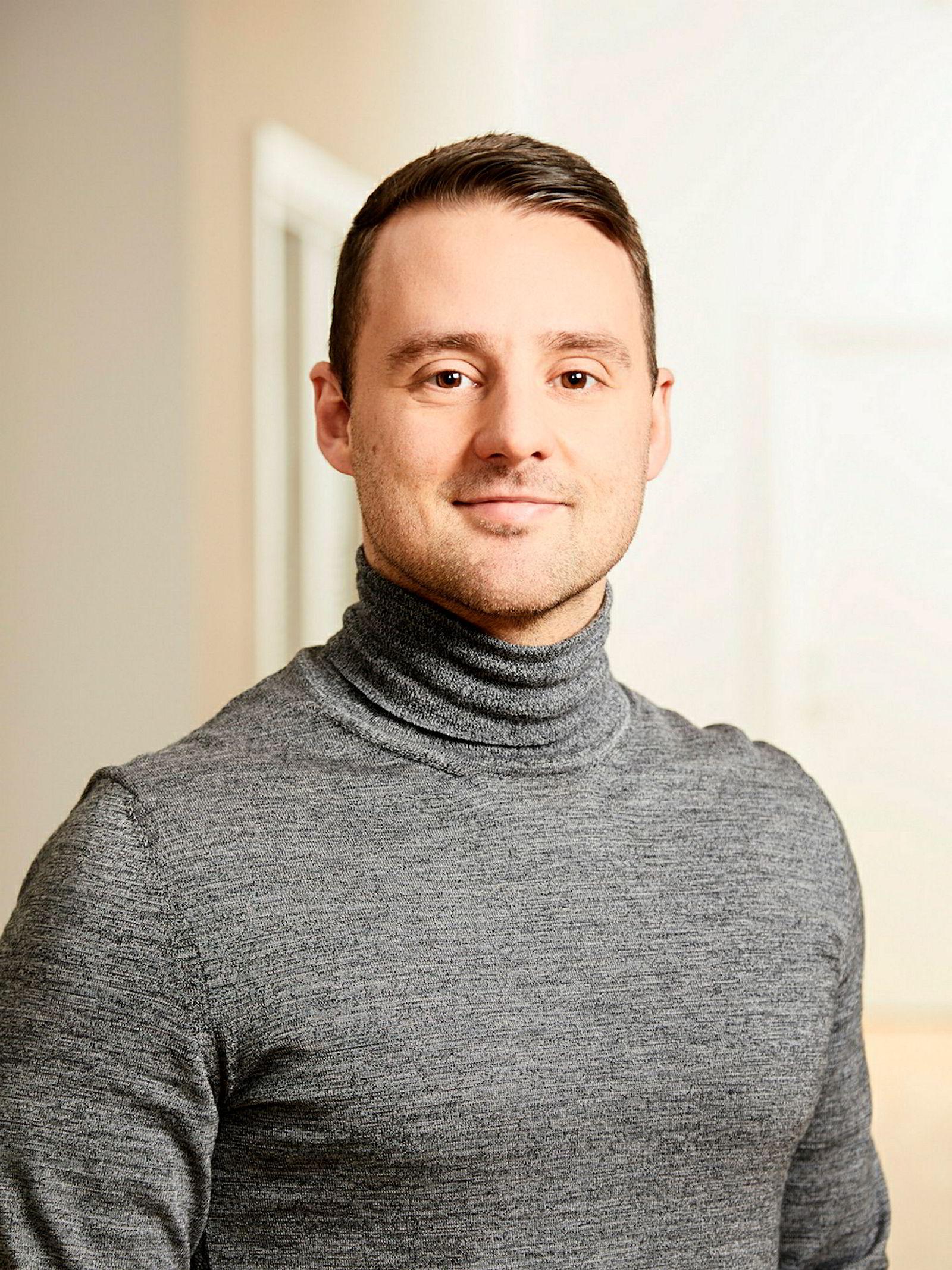 Norden-sjef Niklas Joensen i Lime