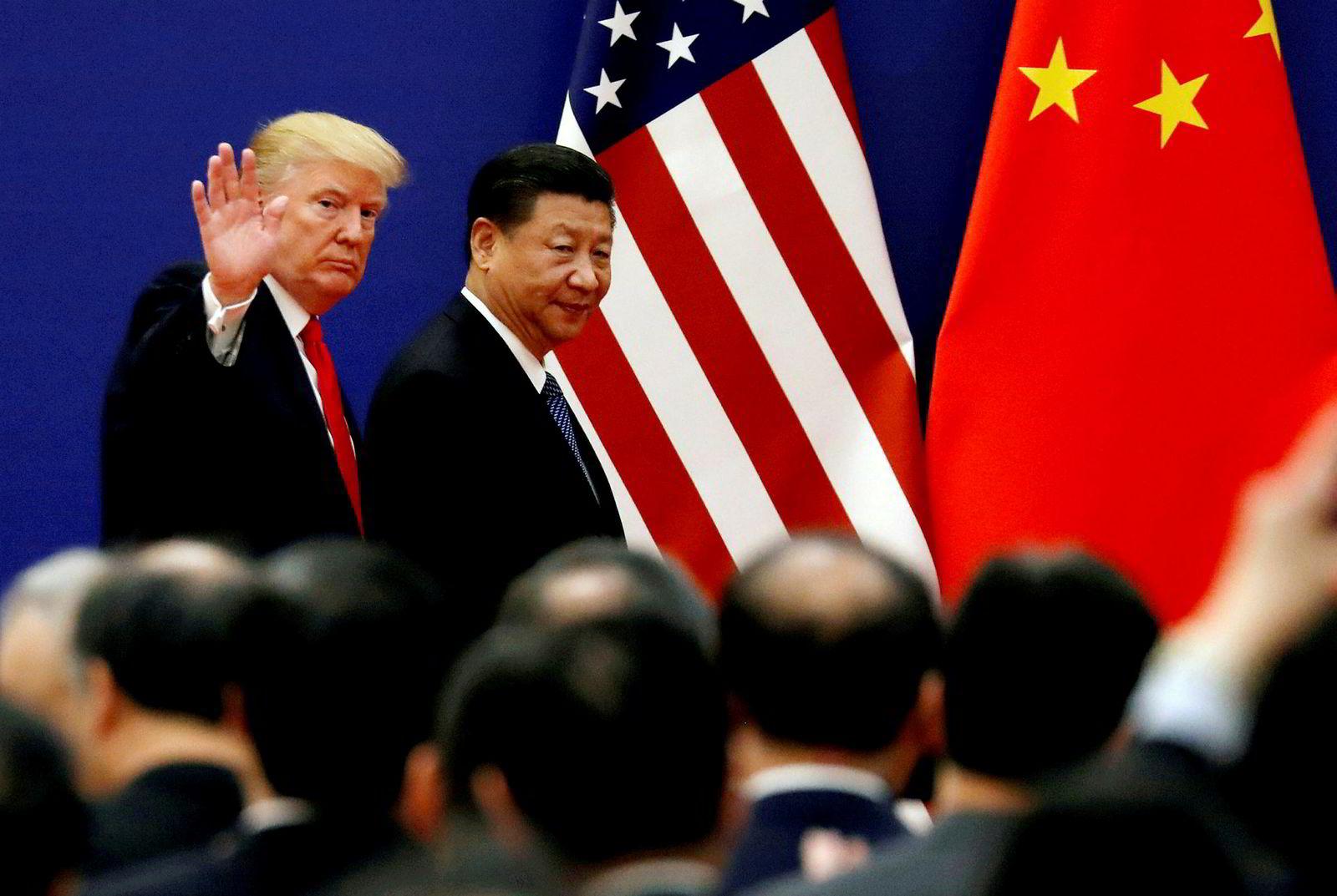 Xi Jinping og Donald Trump skal etter planen møtes for direkte samtaler under G20-møtet i Japan denne helgen.