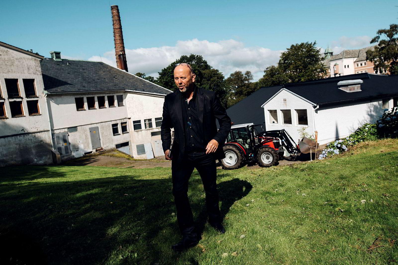 Tirsdag lanserte den lokale industrigründeren Bjørn Rygg fra BR Industrier de nye planene for utbyggingen av det gamle sykehusområdet på Dale, et område han fikk kjøpe for 32 millioner kroner i 2015.