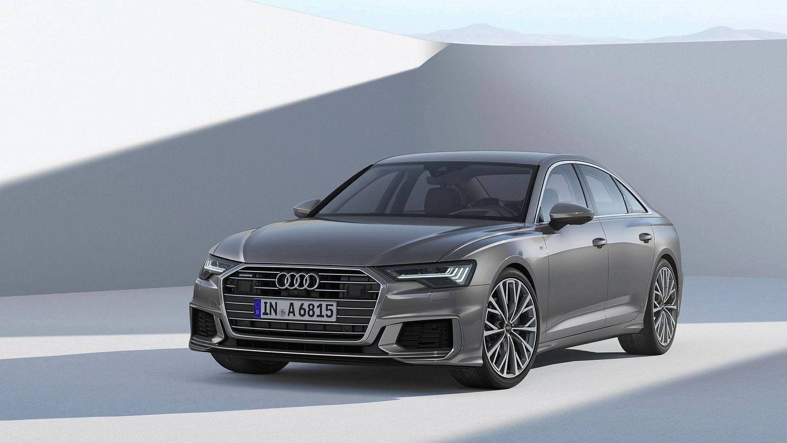 Det er ikke alltid like lett å se hvilken Audi-modell, eller -generasjon man ser. Dette er åttende generasjon A6.