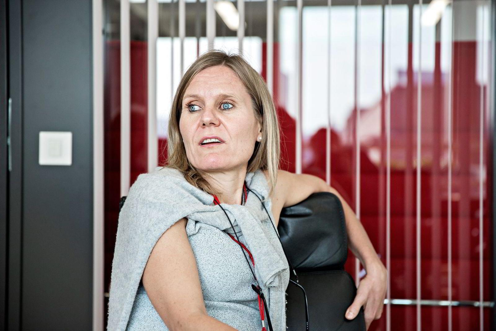 VGTV-sjef Helje Solberg har brukt Sjakk-VM som springbrettet for lanseringen av VGTV på Canal Digital. Foto: Aleksander Nordahl