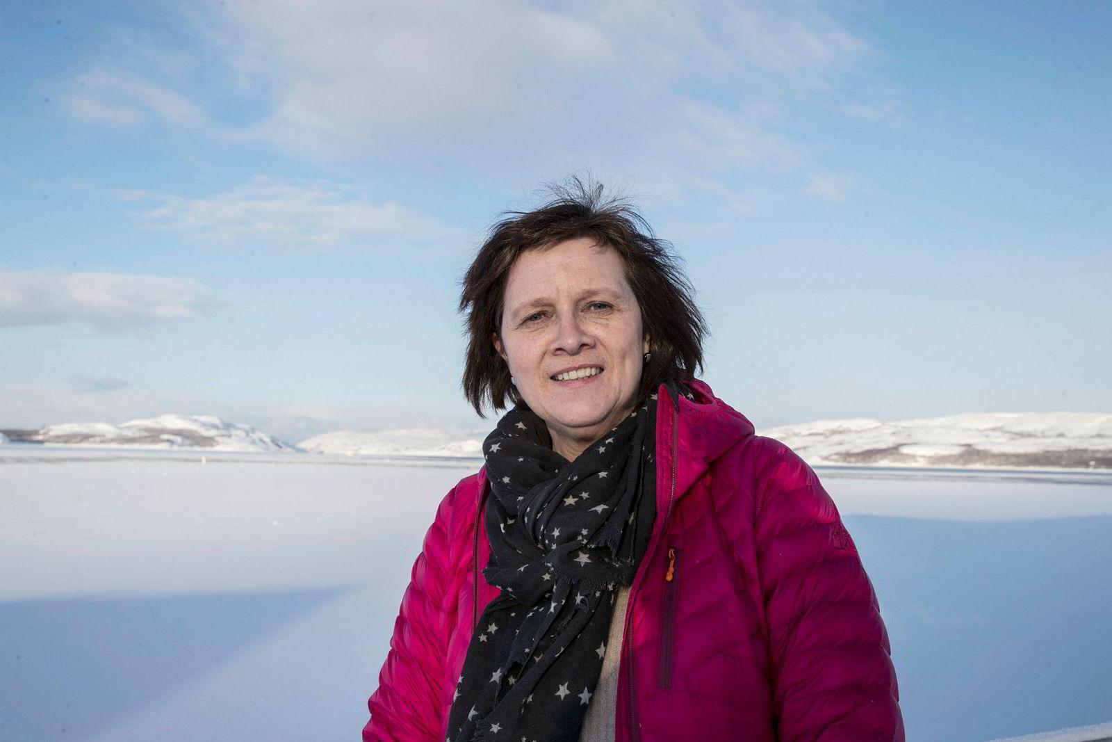Ordfører Kristina Hansen (Ap) i Nordkapp kommune.