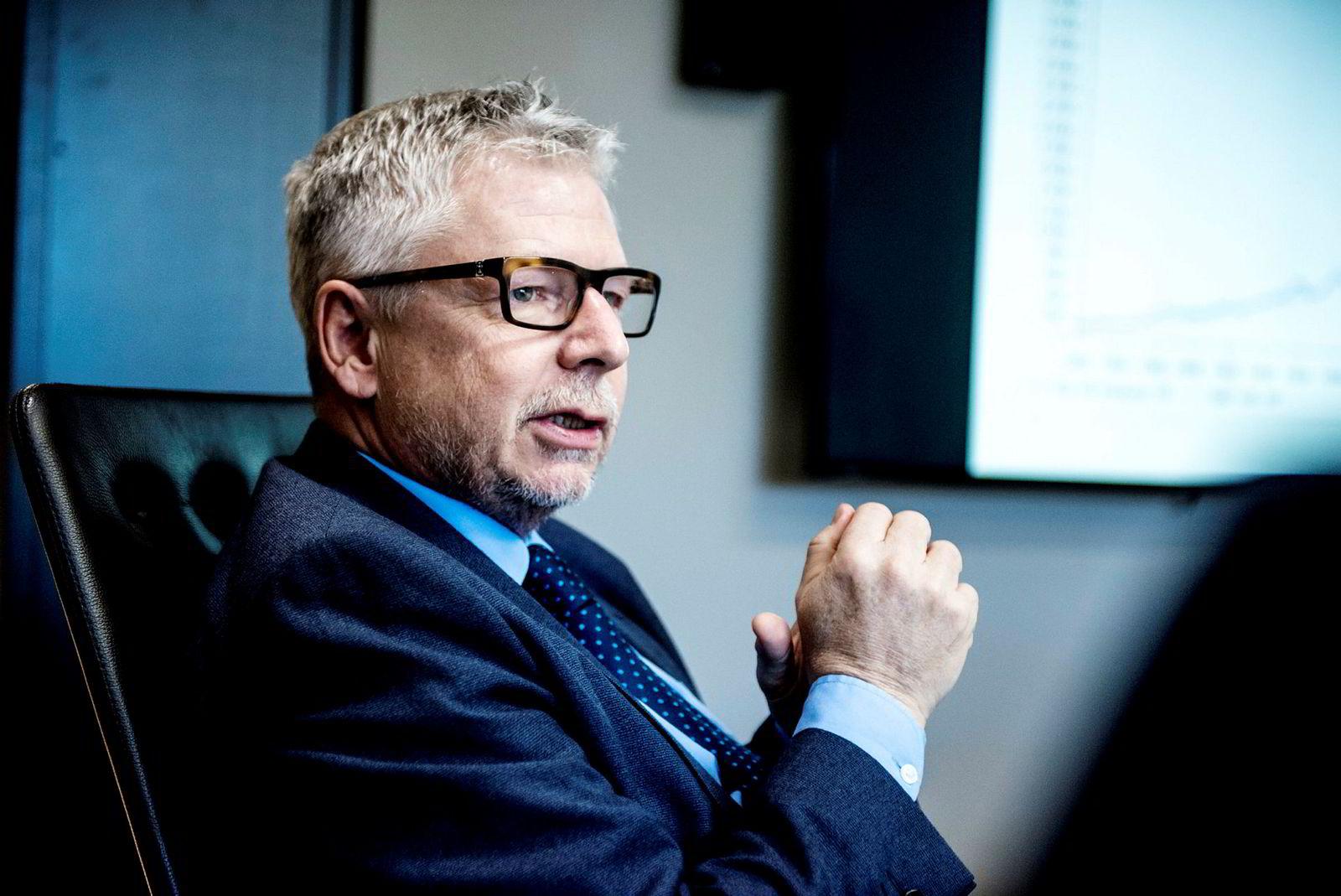 Sjefanalytiker i Nordea Markets, Erik Bruce.