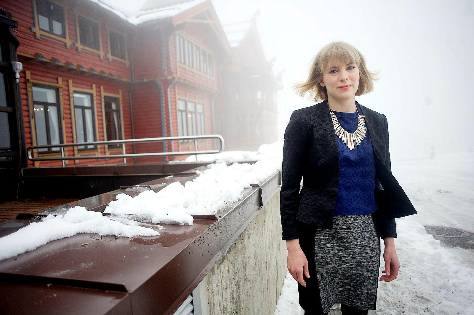 Kari Elisabeth Kaski, stortingsrepresentant for SV.