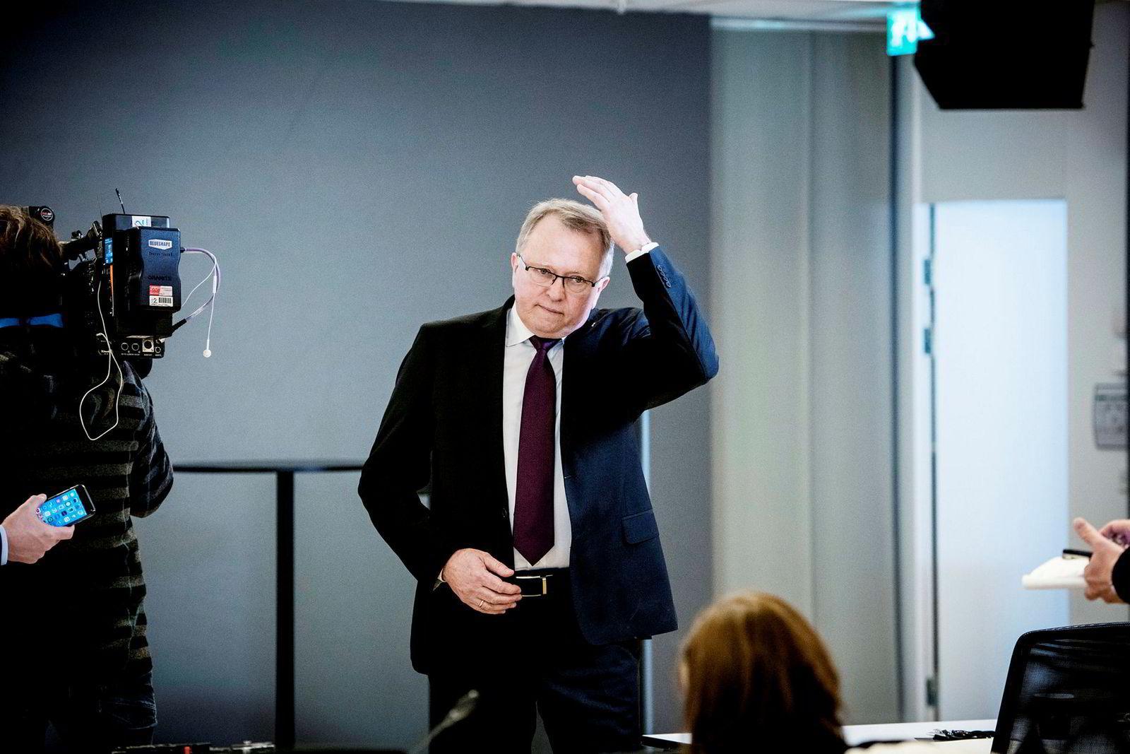 Tjener best: Equinor-sjef Eldar Sætre.