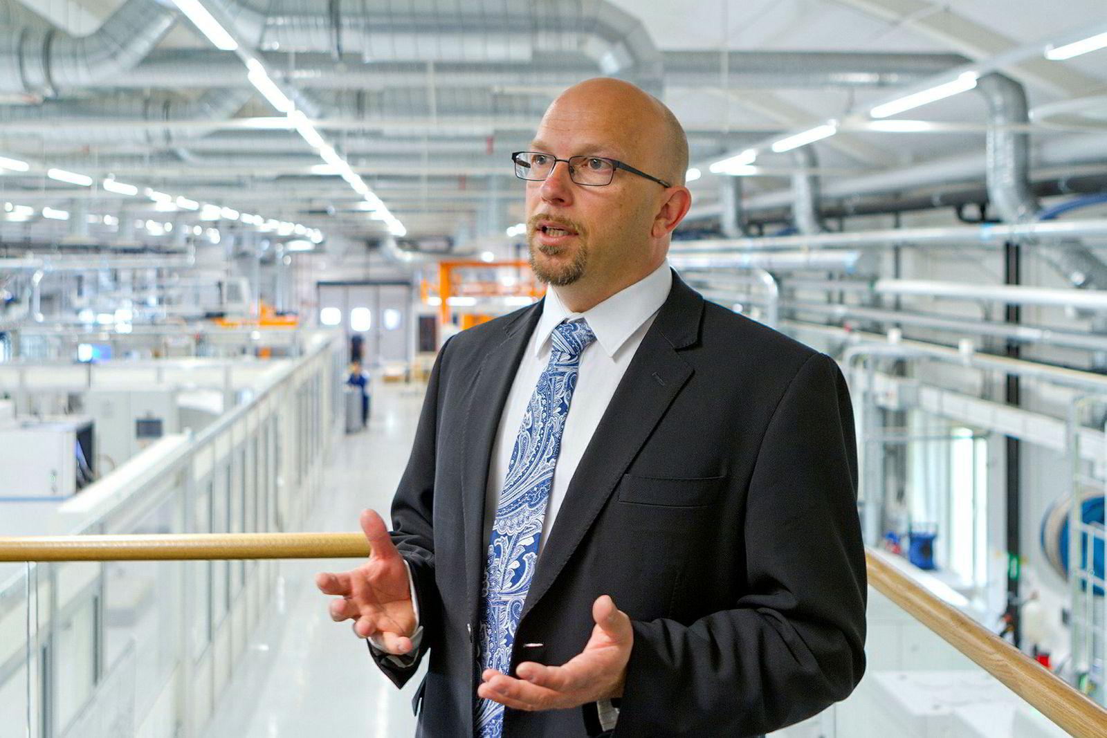 Andreas Graichen, utviklingssjef for additiv produksjon i Siemens.