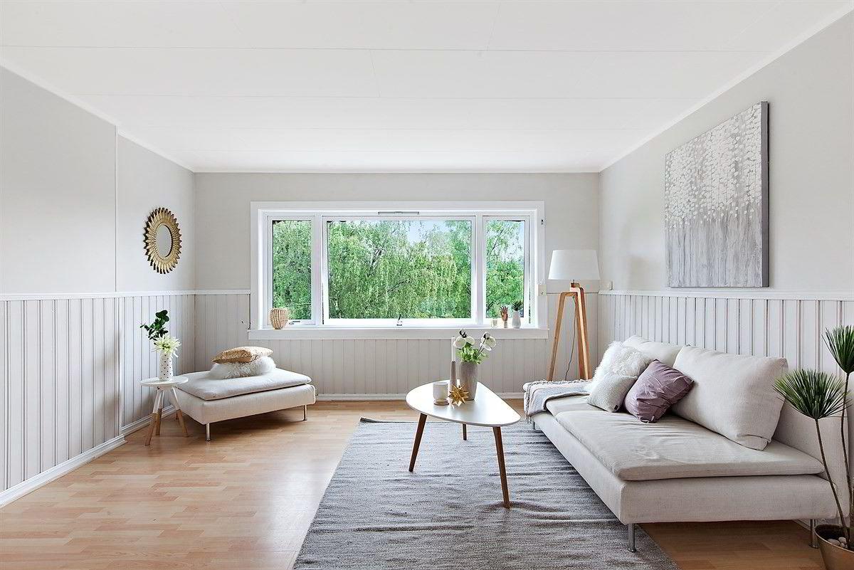 Denne 86 kvadratmeter store leiligheten på Veitvet i Oslo har en fastpris på 3,2 millioner kroner.