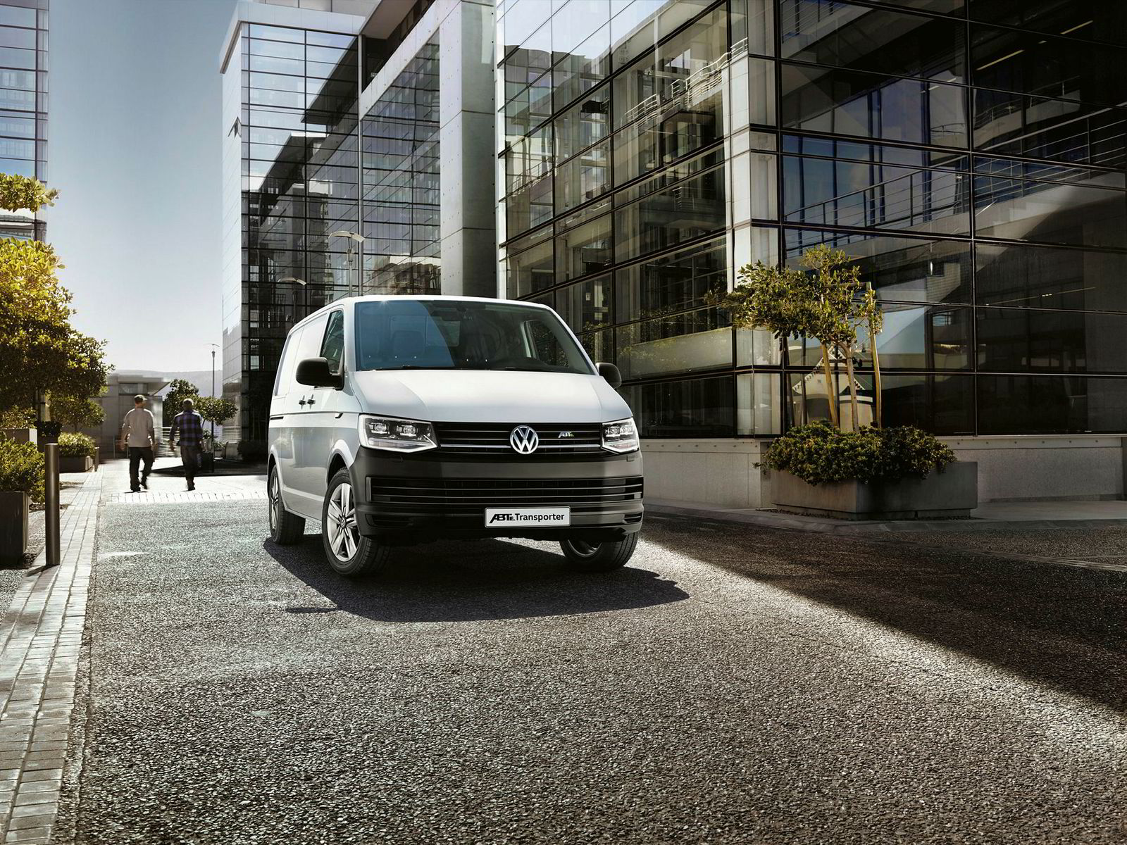 Volkswagen ABT e-Transporter.
