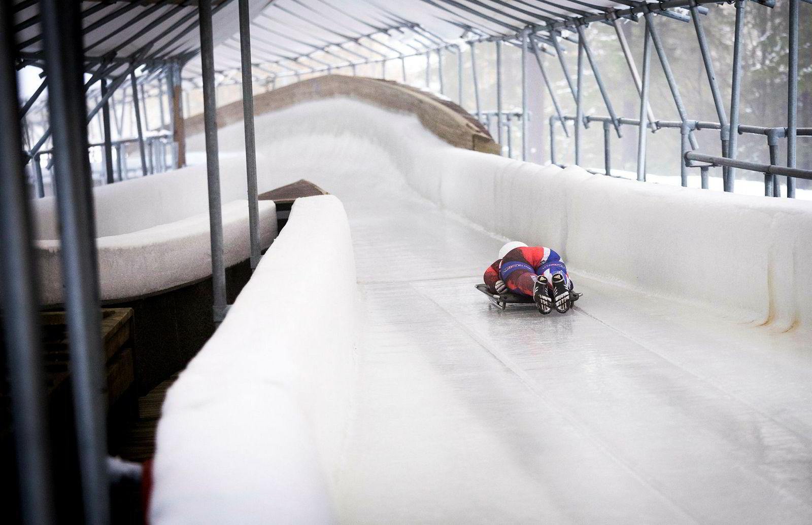 Med bosted bare noen kilometer unna, er den gamle OL-banen på Hunderfossen hjemmebane for Maya Pedersen.