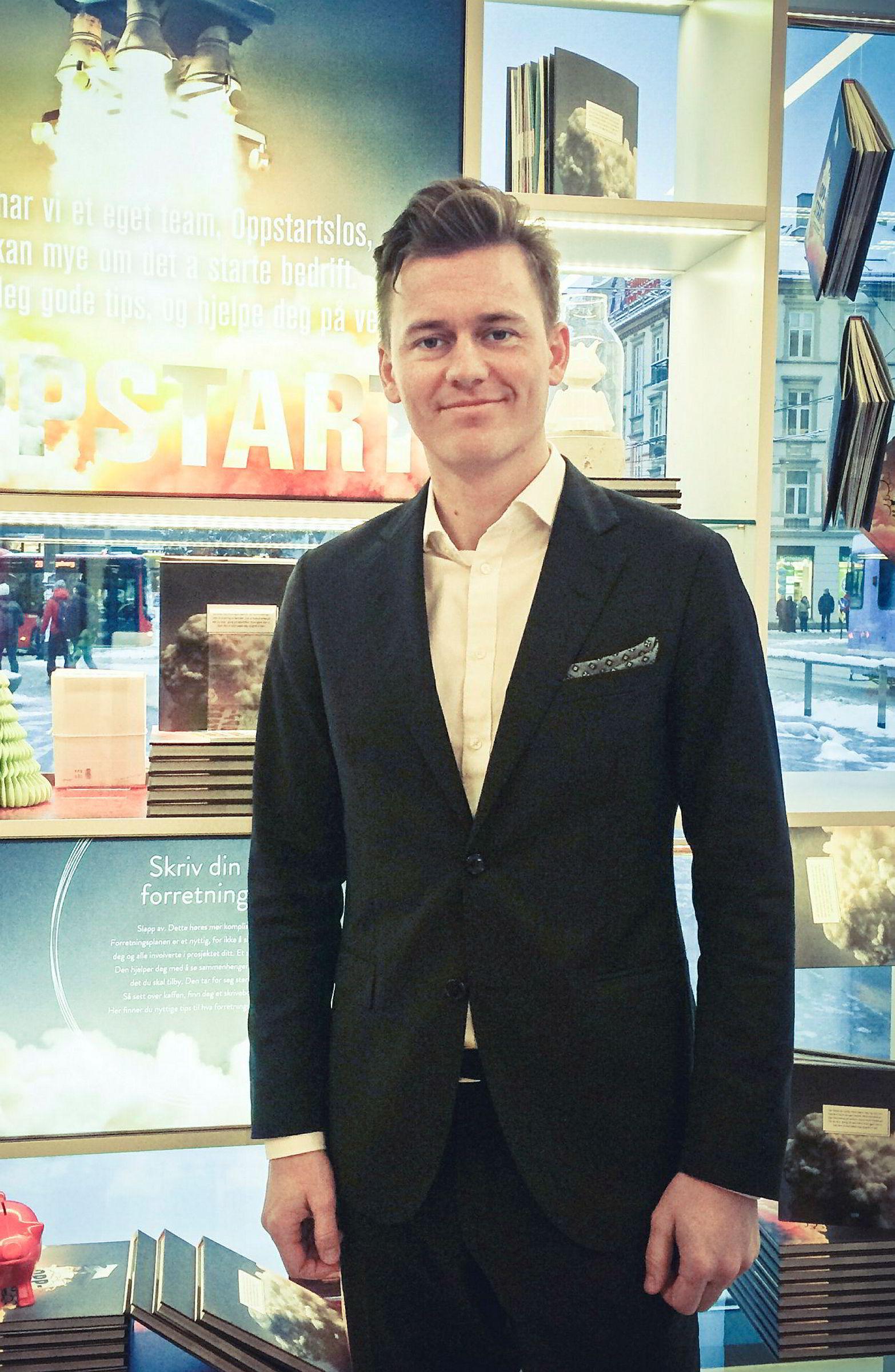 Kristoffer L. Tessem er en av flere kunder som bestilte varer hos Habitat uten å motta varene.