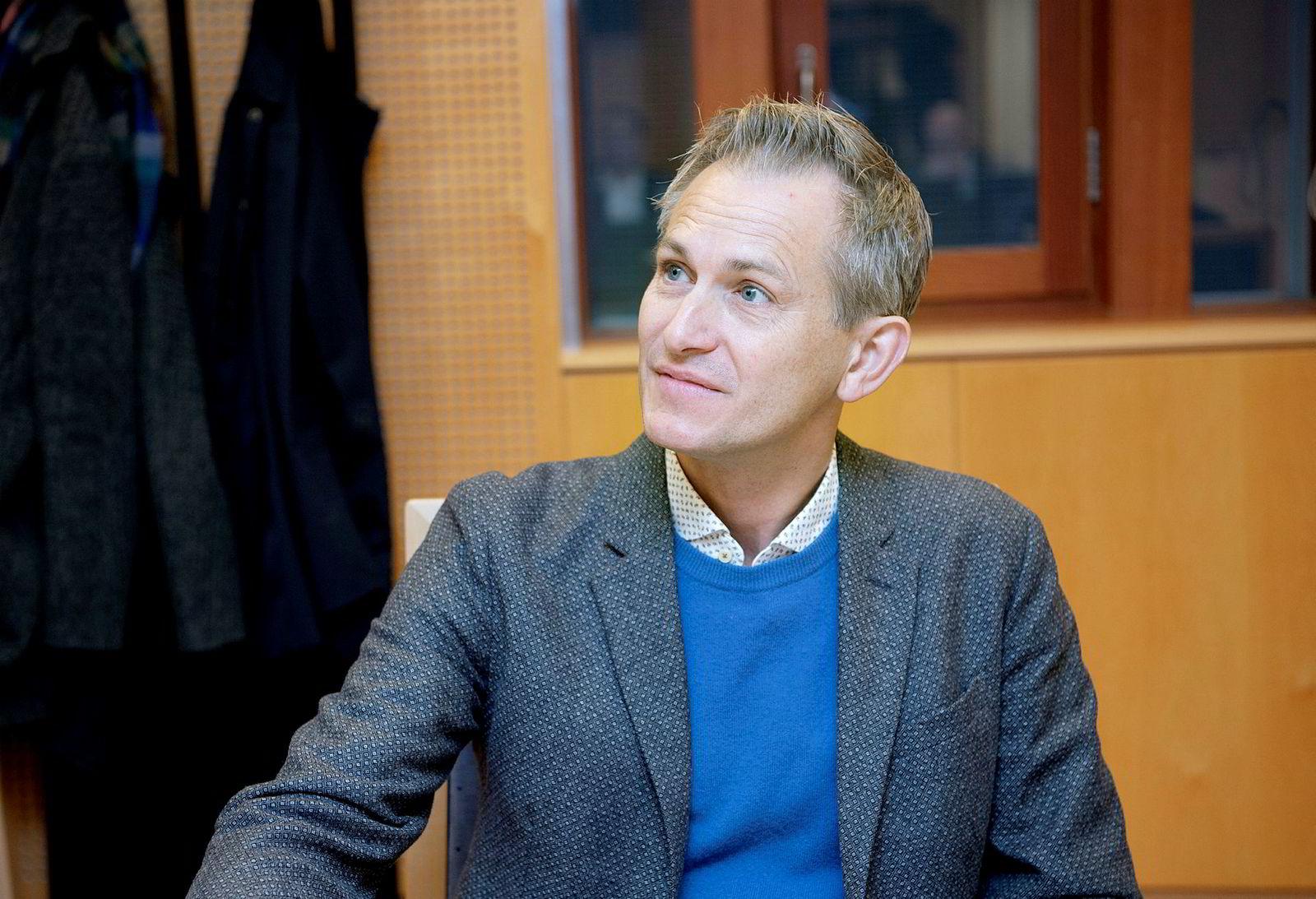 Sigurd Slåttebrekk er daglig leder i Animando og en av opphavsmennene til fortellingene om redningsskøyten Elias.