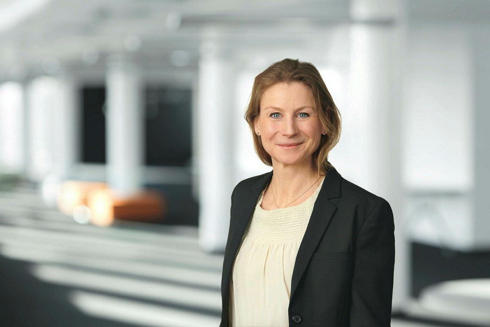 – Dette er gode boliger, sier Ida Aall Gram, konserndirektør Eiendom i AF Gruppen om de ledige boligene i Krydderhagen.
