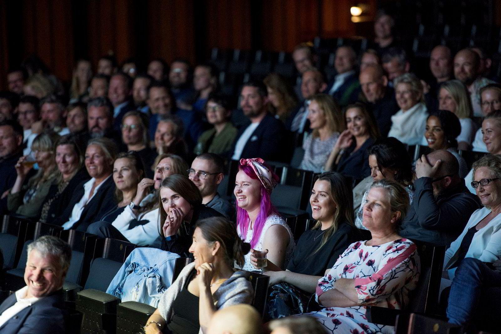 Salen i Oslo Konserthus under kåringen av årets byrå.