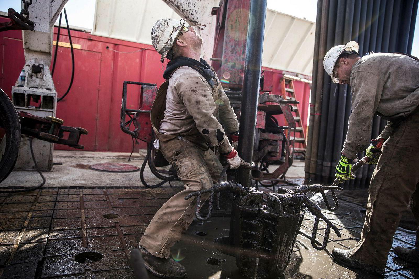 I Midland i Texas, senteret for oljefeltet Permian, bores det som aldri før. Den amerikanske oljeproduksjonen vil være over 11 millioner fat dagen i slutten av året, anslår Rystad Energy.