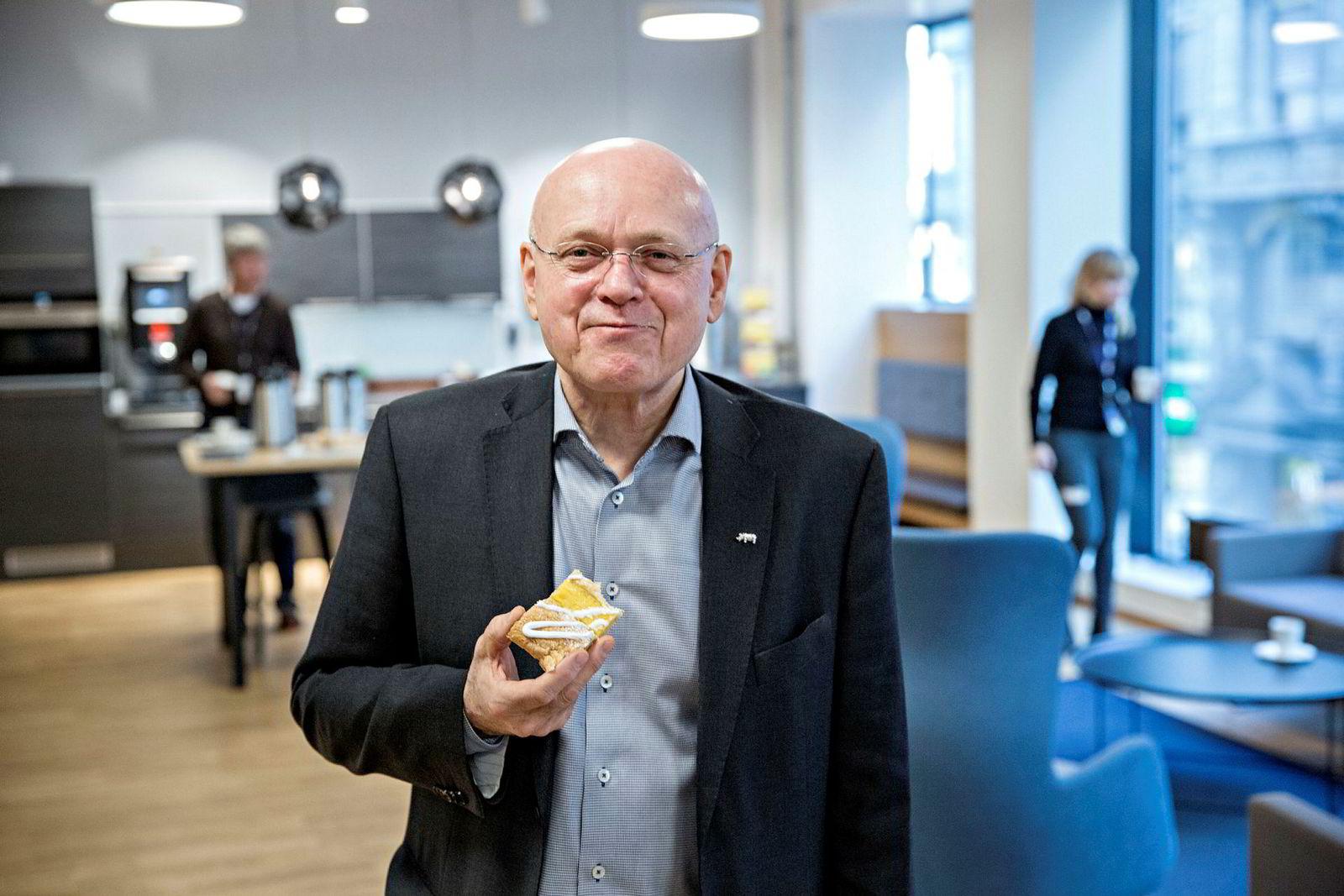 Avtroppende sjefredaktør: Bjørgulv Braanen.
