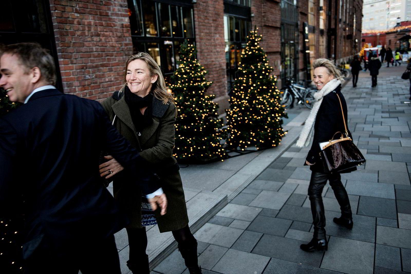 Anne Kristi Koppang (i midten).