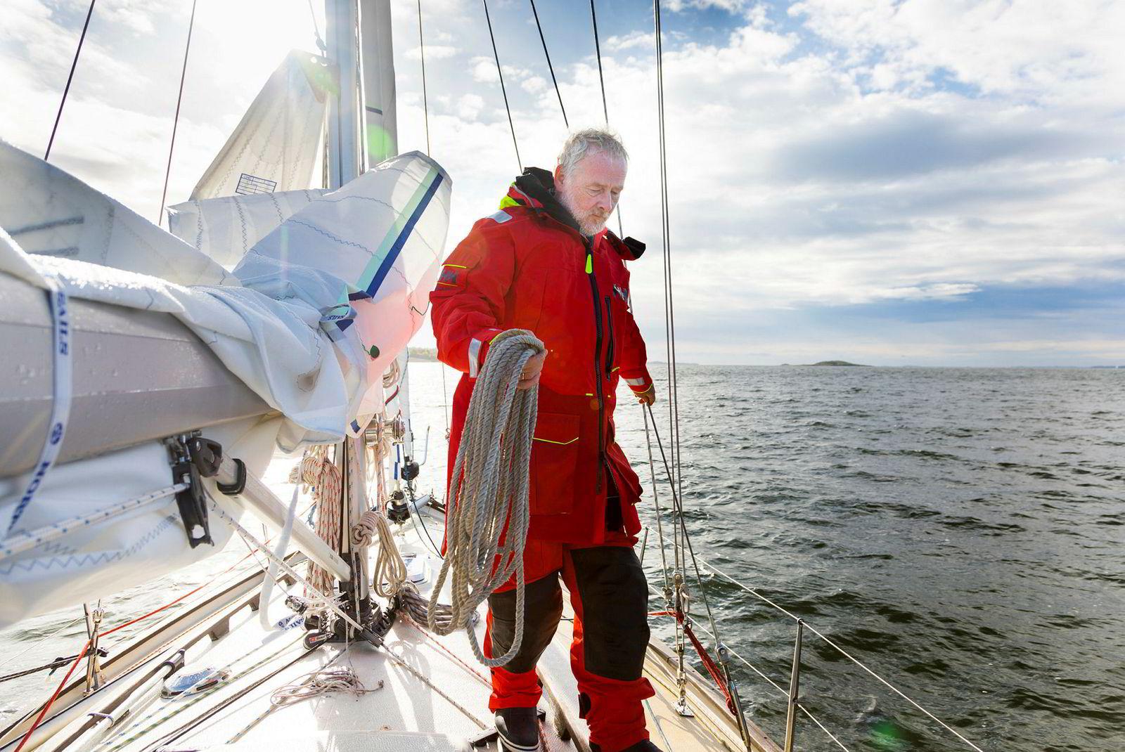 Wiig skal røse godt i utstyret før han legger ut på Golden Globe Race. Det betyr at båten må testes langvarig under røffe forhold for å avdekke alle svakheter.
