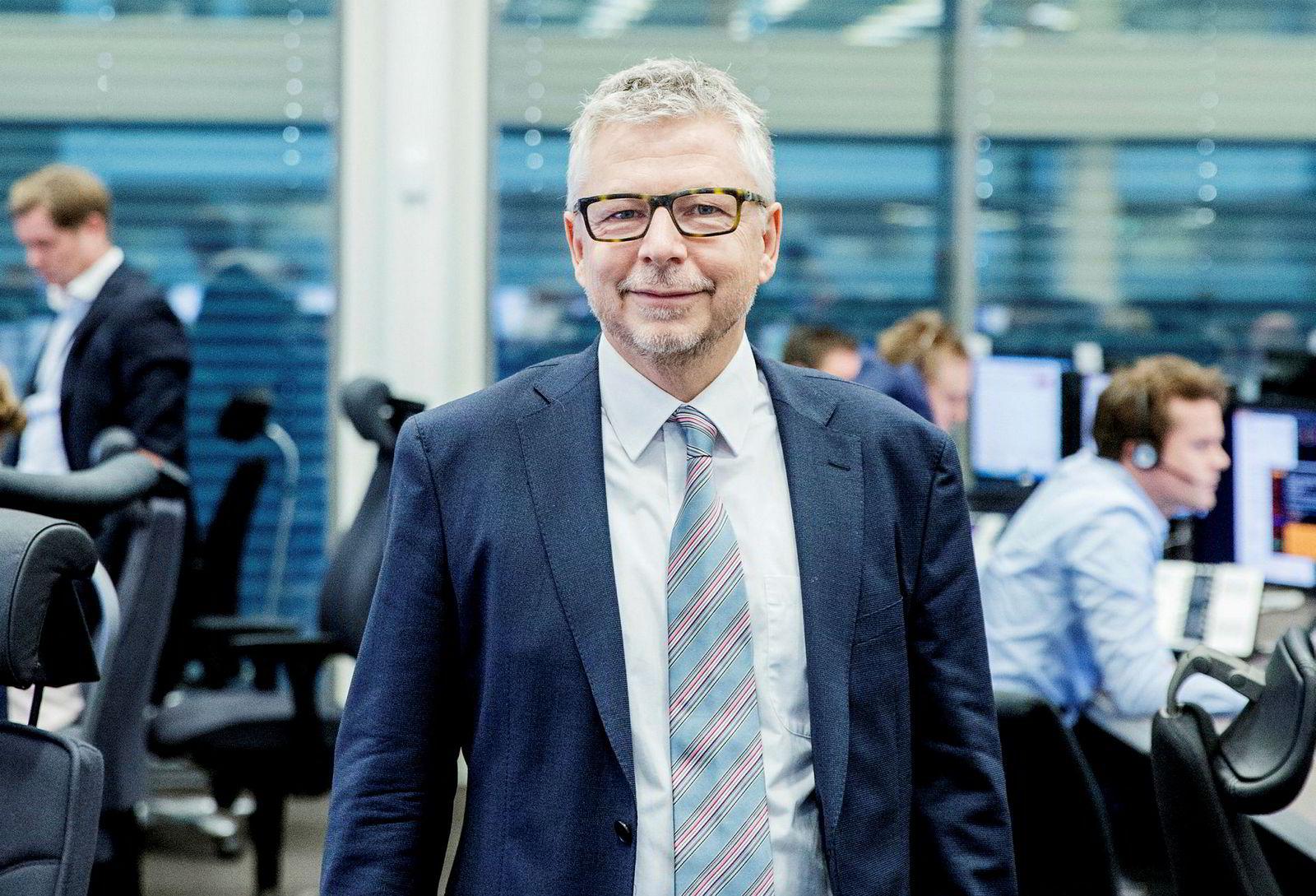 Eric Bruce sjefanalytiker Nordea Markets mener rentetoppen kanskje ikke er nådd likevel.