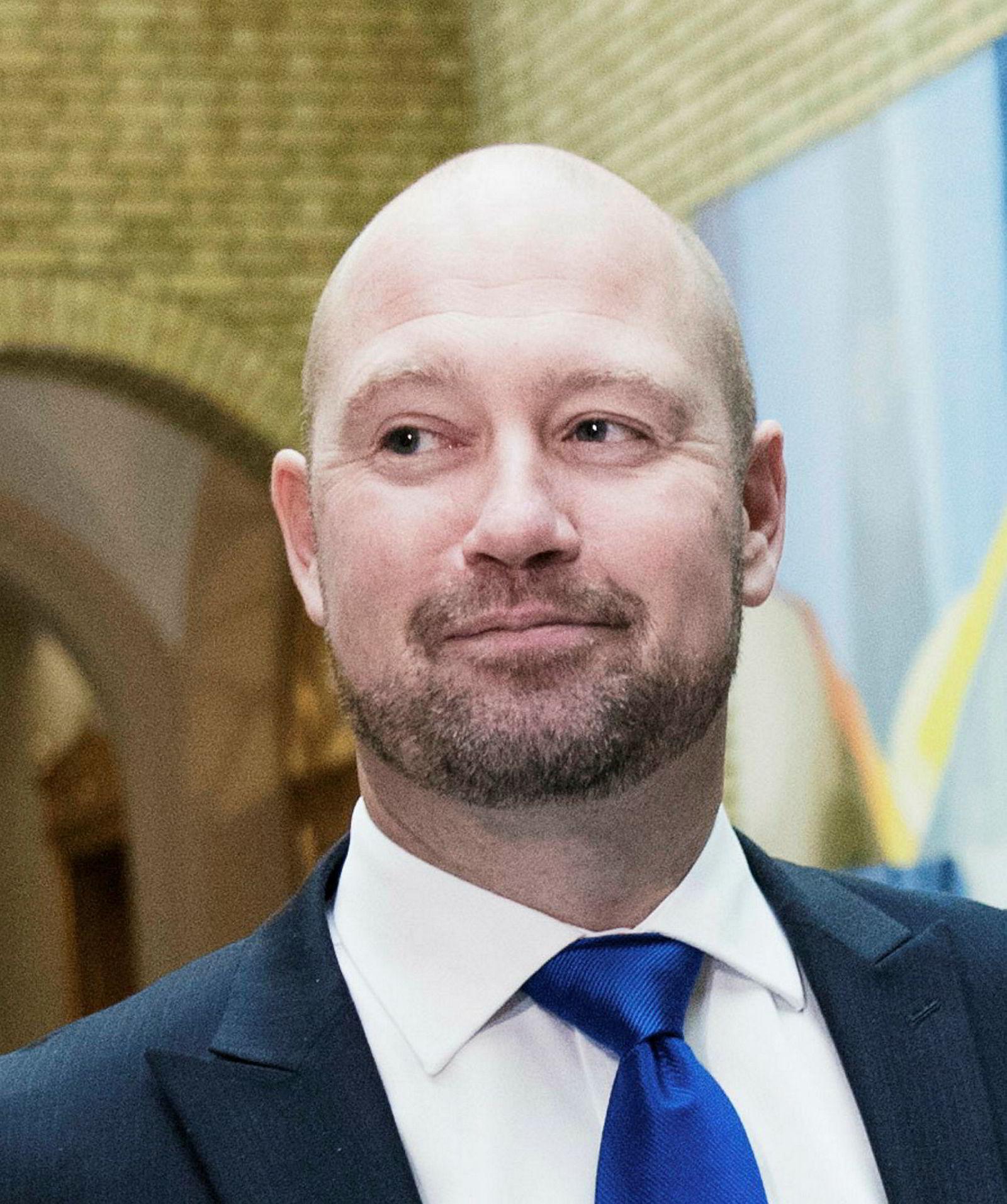 Justis- og beredskapsminister Anders Anundsen.
