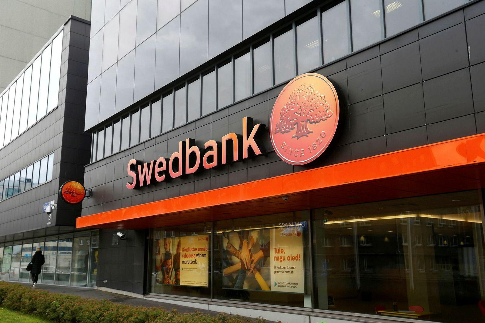 Swedbank er under etterforskning av amerikanske finansmyndigheter. Bildet er fra Tallinn i Estland.