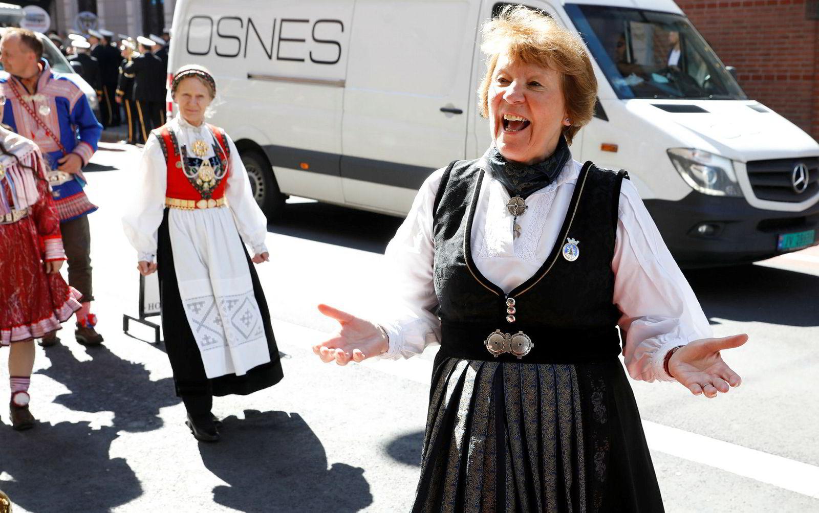 - Kjærligheten har ingen aldersgrenser, sa ordfører i Oslo, Marianne Borgen.
