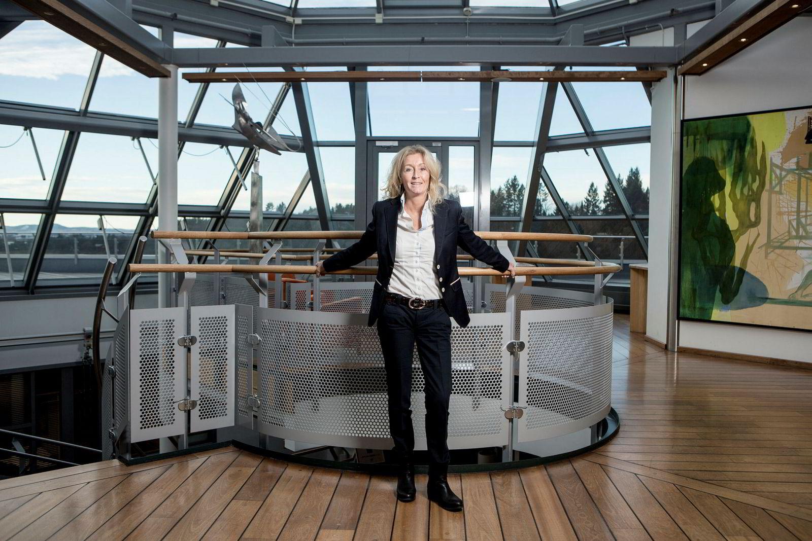 Grethe Meier, administrerende direktør i Privatmegleren, er meget fornøyd med årets mai-tall.