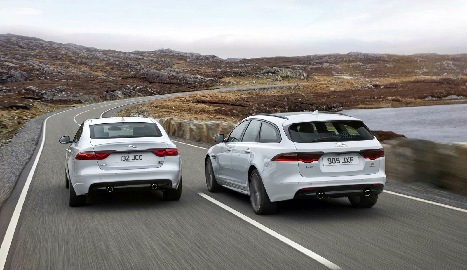 Jaguars designsjef Ian Callum mener XF Sportbrake har et vel så sportslig utseende som sedanen.