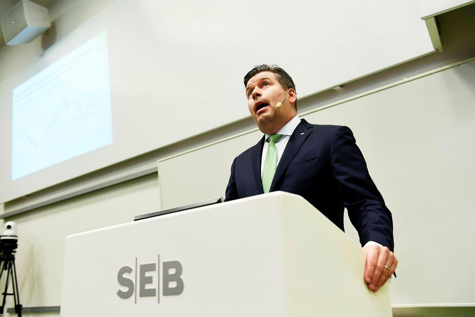 Konsernsjef Johan Torgeby i SEB