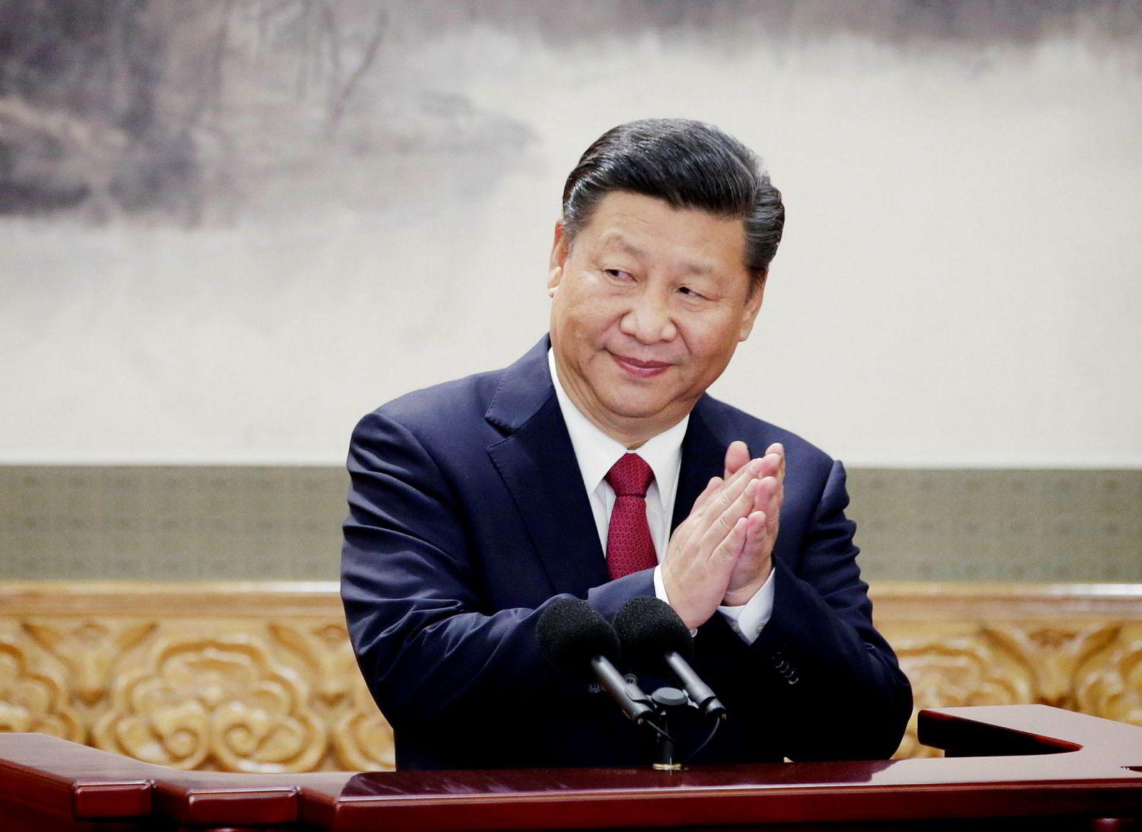 Kina president Xi Jinping.