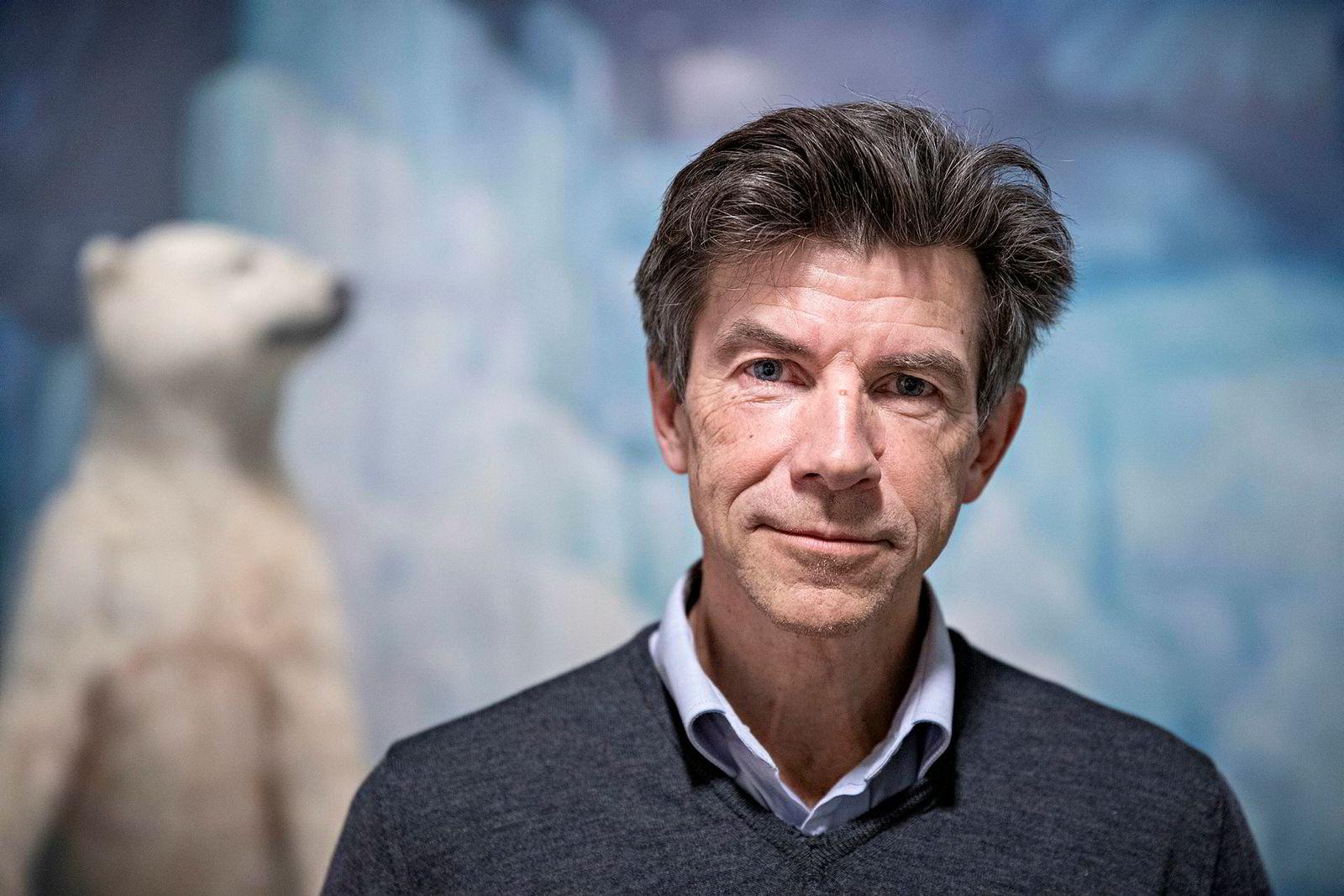 Dag O. Hessen professor i biologi.