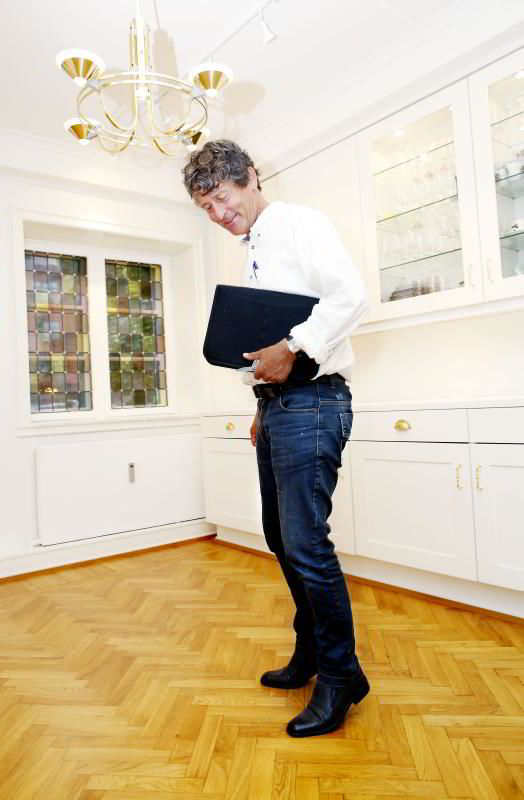 Takstmann Lasse Evensen i Norges takseringsforbund (NTF) har 25 års erfaring fra boligmarkedet i Oslo og Bærum. FOTO: KRISTIN SVORTE