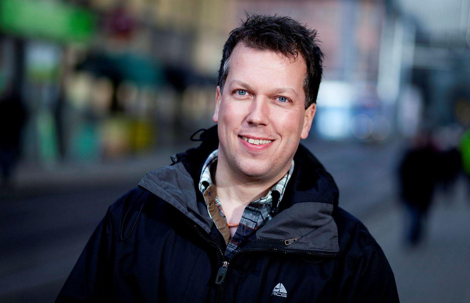 Øyvind Solstad er Global Social Media Manager i Hurtigruten.