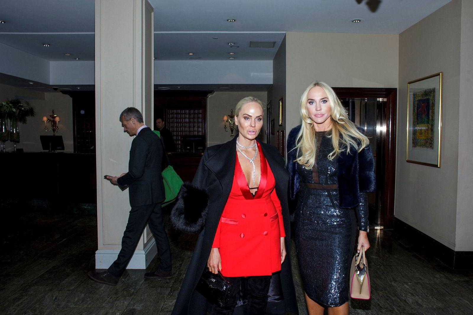John Fredriksens døtre, Kathrine Astrup Fredriksen (til venstre) og Cecilie Astrup Fredriksen.