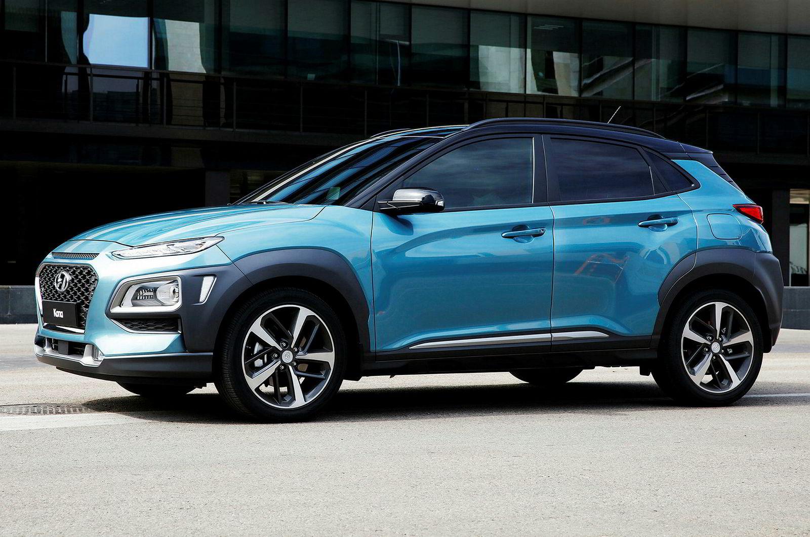 Hyundai Kona.