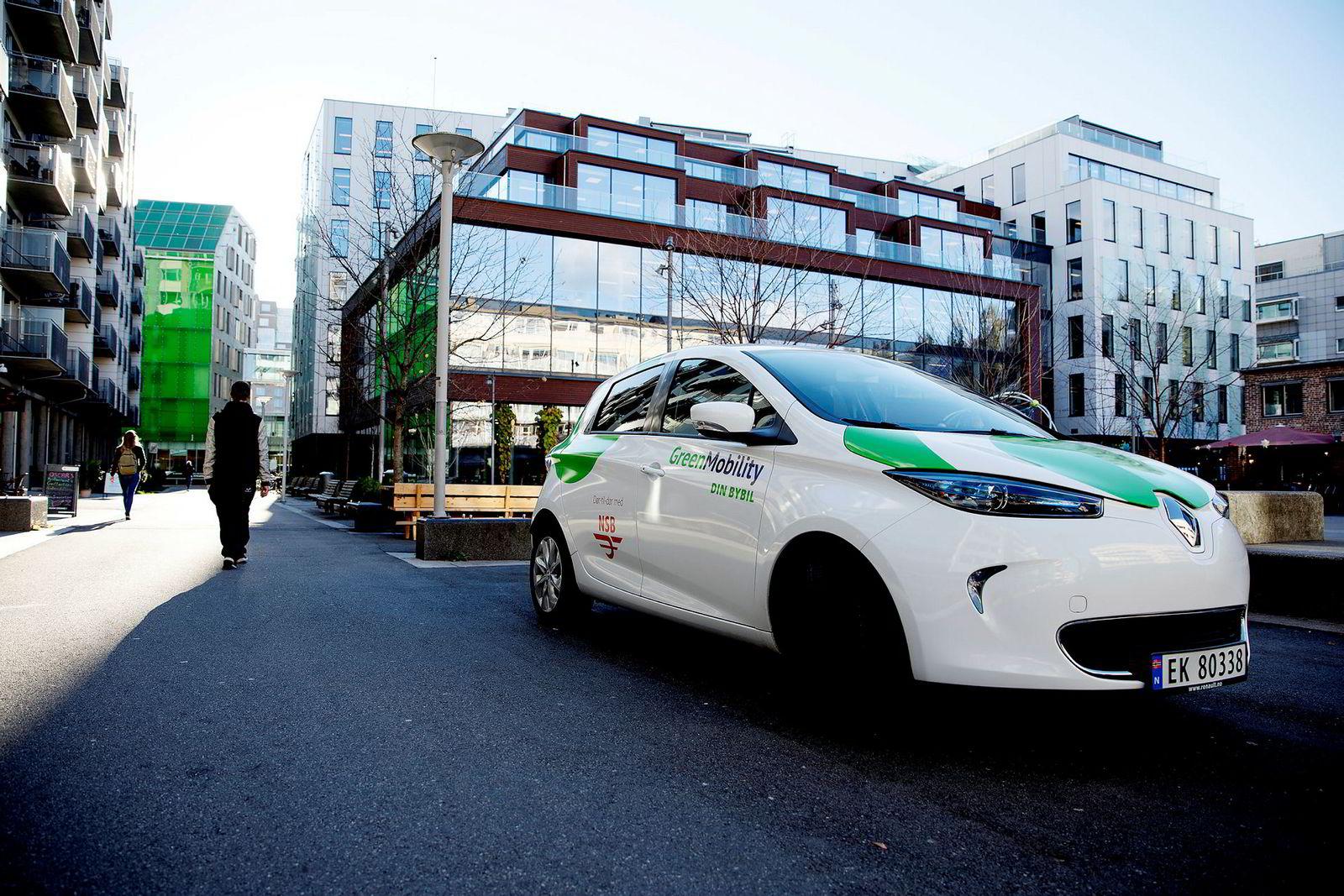 Bybils elektriske Renault Zoe blir snart et vanlig syn på veiene i Oslo.