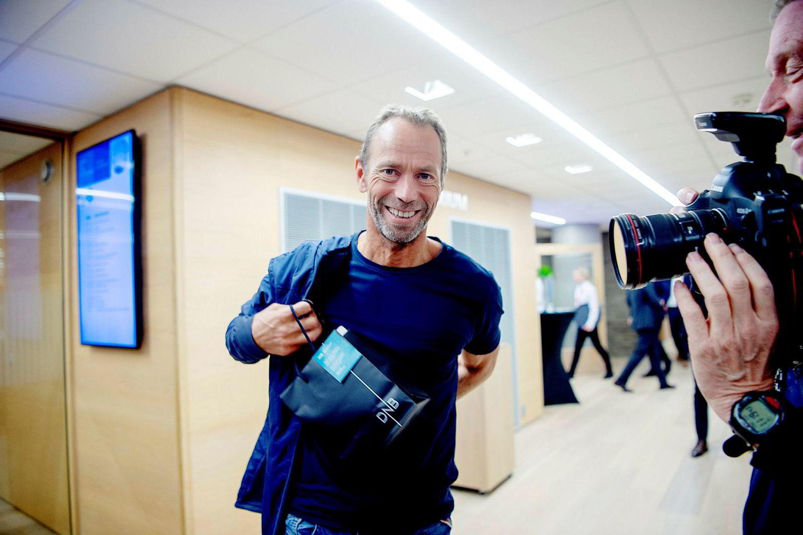 Investor Ivar Tollefsen vil også flytte til Snarøya der han eier fem eiendommer.
