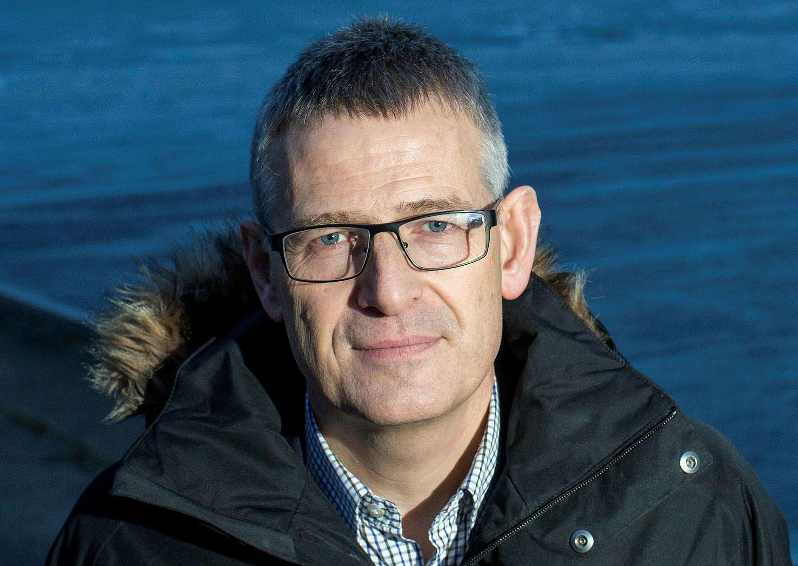 Autostore-sjef Karl Johan Lier.