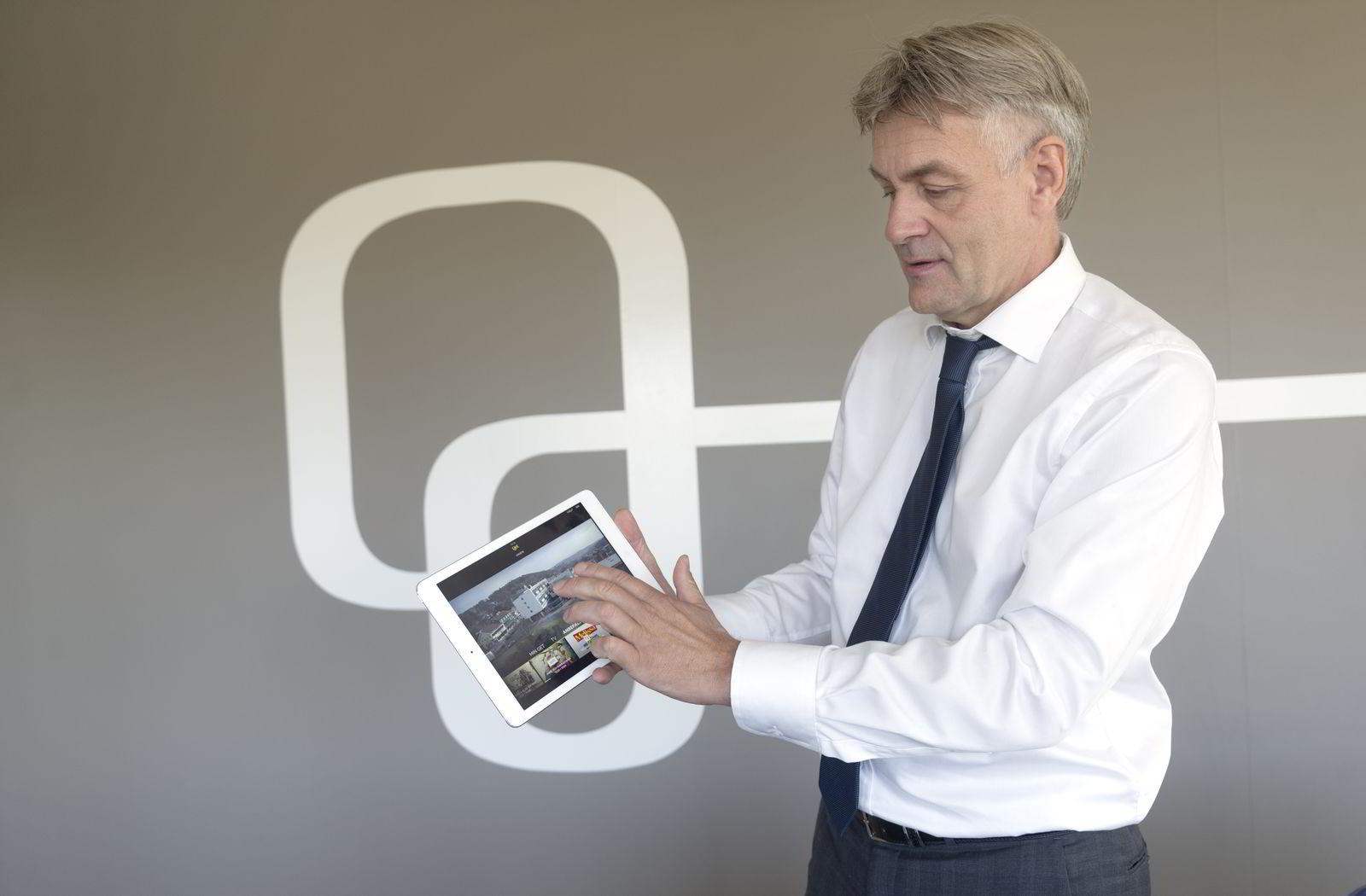 Get-sjef Gunnar Evensen.