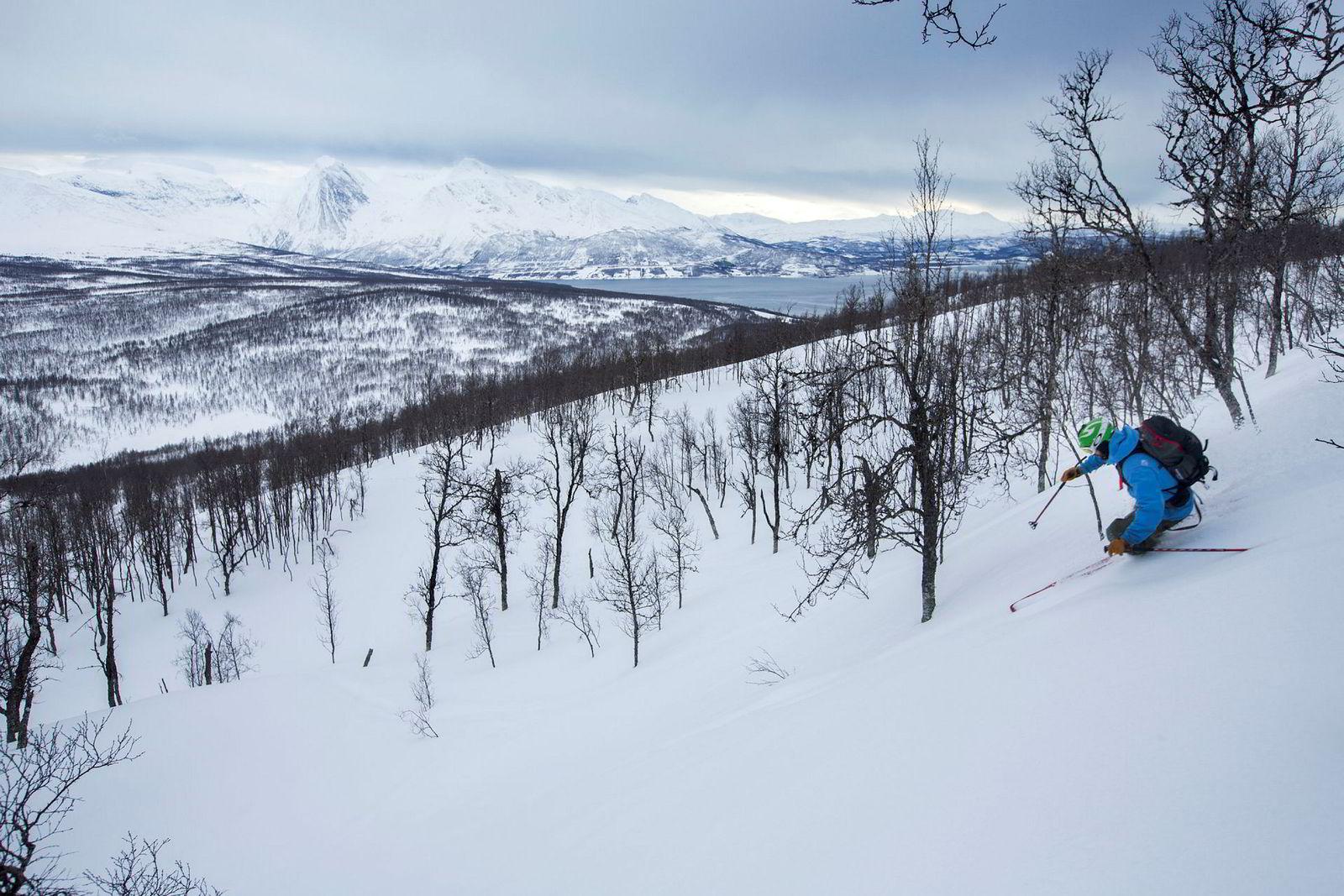 Før var ski bare ski, også for Jens-Egil Nysæther. Men ingenting slår følelsen av å kjøre på et par av sine egne når man har lagd et godpar.