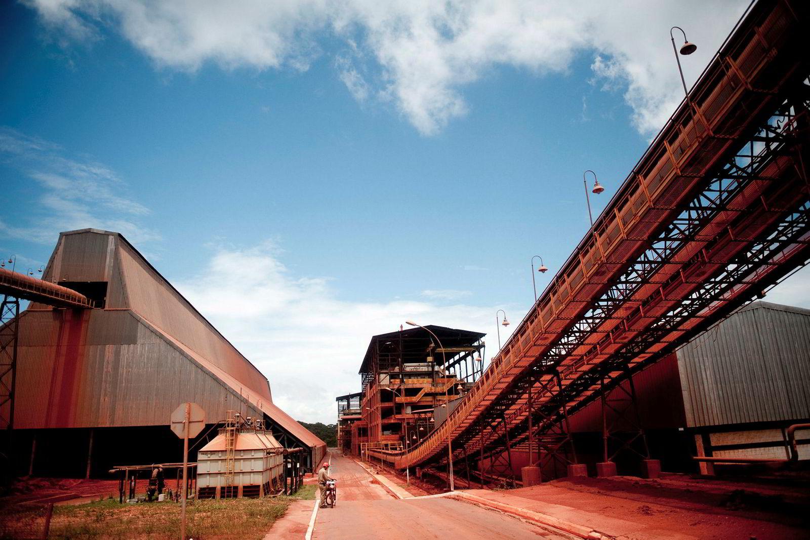 Alunorte er verdens største aluminium raffineri, nå eid av Hydro.