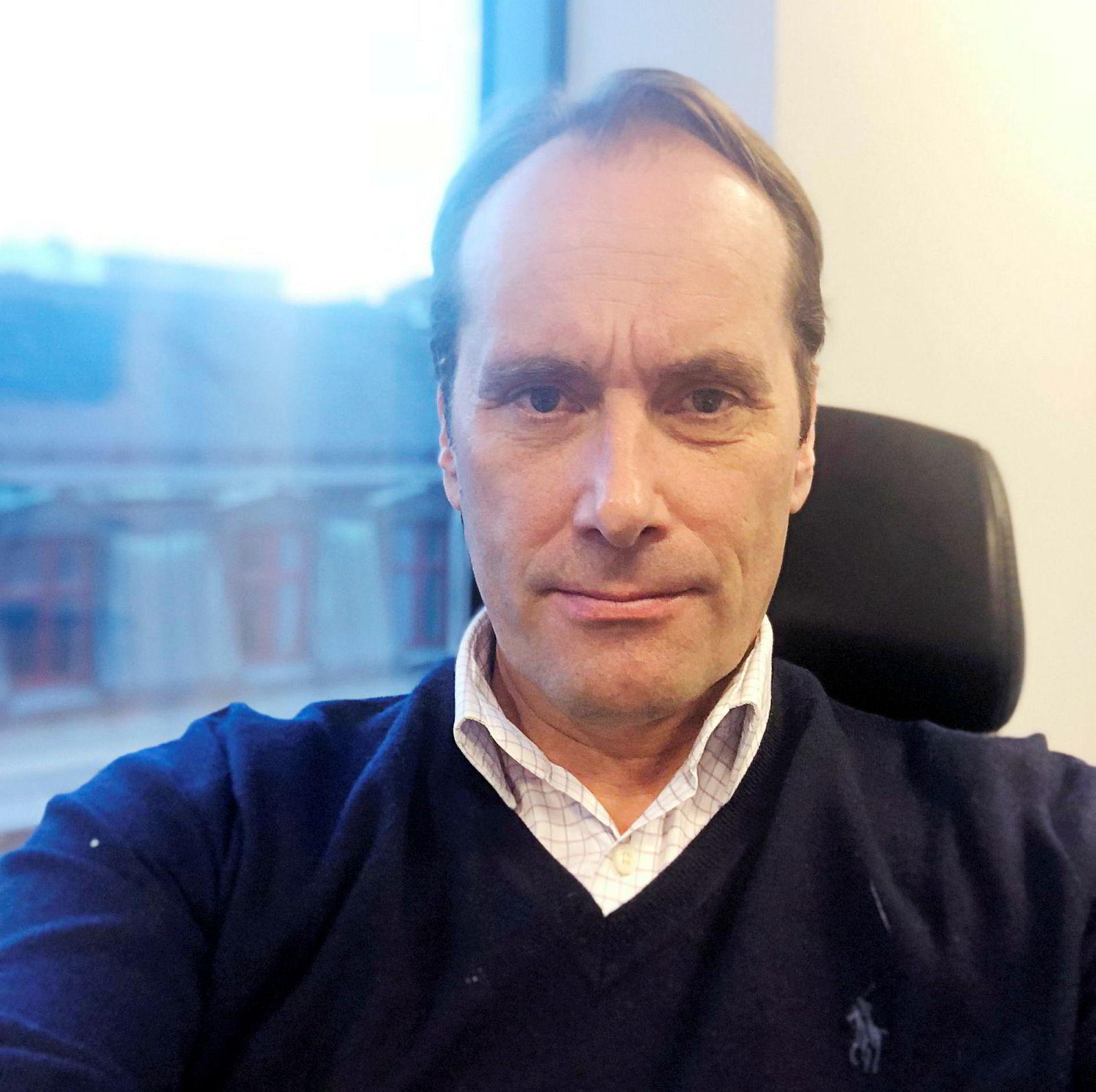 Jonas. Ø Christensen, gründer og daglig leder i RTC Offshore.